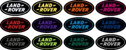 Land Rover Discovery Badge Set Colours
