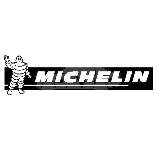 michelin black  white decal    dmb graphics ltd