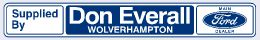 Don Everall - Wolverhampton - Ford - 295x45
