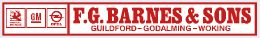 F G Barnes and Sons - Guildford Godalming Woking - Vauxhall 295x43