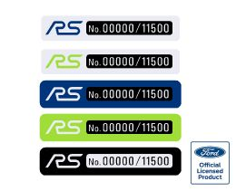 Focus RS Build Number Badges