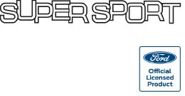 Supersport Tailgate Decal