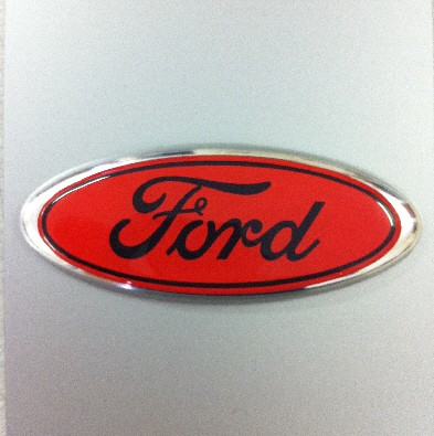 Hgow To Paint  Ford Ovel Badge Black