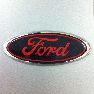 Cool Ford Emblems When you asked for red/black,